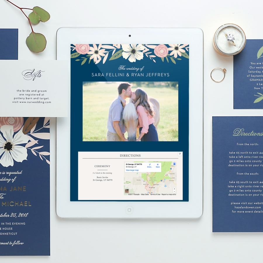 The BEST Wedding Invitations & Wedding Websites online at Basic ...